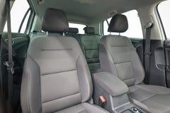 Textile car seats. Stock Photo