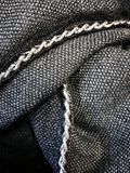 Textile and chain Stock Photography
