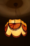 Textile chandelier Stock Photography