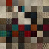 Textile chart with many color samples Stock Photography