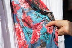 Textile check Stock Photos