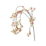 Textile cherry blossom Royalty Free Stock Photo