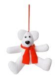 Textile Christmas tree toys Stock Photo