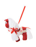 Textile Christmas tree toys Stock Image