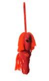 Textile Christmas tree toys Stock Photography