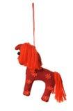 Textile Christmas tree toys Royalty Free Stock Photos