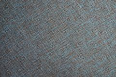Textile close-up blue and brown texture Stock Photo
