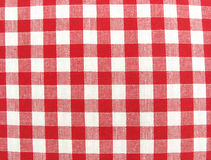 Textile cloth surface red and white. This is a  lovely textile cloth surface red and white Stock Images