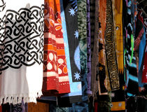 Scarves Textile clothing Stock Photography
