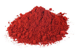 Textile color powder Royalty Free Stock Photography