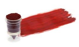 Textile color powder Stock Images