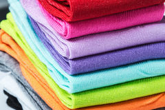 Textile colorful lot of socks Stock Photography