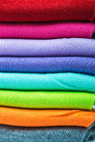 Textile colorful socks background Stock Image