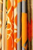 Textile contemporain génial de rideau Image libre de droits