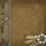 Textile cover Royalty Free Stock Photography
