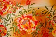 Textile de batik Image stock