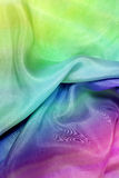Textile de couleur Image libre de droits