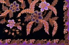 Textile de modèle et de batik Illustration Libre de Droits