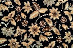 Textile de modèle et de batik Images libres de droits