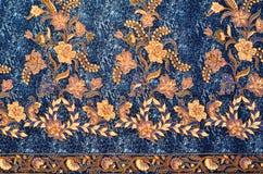 Textile de modèle et de batik Photographie stock libre de droits