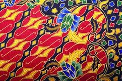 Textile de modèle et de batik Image stock