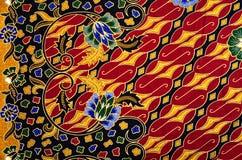Textile de modèle et de batik Images stock