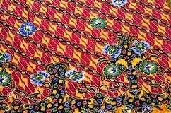 Textile de modèle et de batik illustration stock