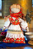 Textile doll in the Russian style Royalty Free Stock Photo