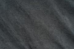 Textile et concept de texture - fermez-vous du tissu chiffonné Images stock