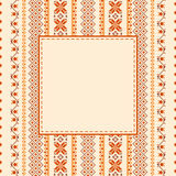 Textile ethnic background Royalty Free Stock Photo