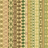 Textile fabric background with ethnic motifs Stock Images