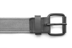 Textile fabric belt buckle Royalty Free Stock Photos