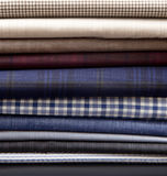 Textile fabric. Fabric materials are posed for ad usage Stock Photos