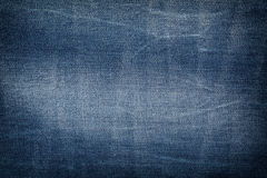 Textile - Fabric Series: Jeans Fabric Background Royalty Free Stock Photography