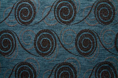 Textile fabric texture Anemon 145 Airforce blue color Royalty Free Stock Images