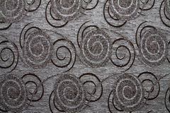 Textile fabric texture Anemon 08 Battleship gray color Stock Photography