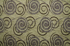 Textile fabric texture Anemon 12 Ecru brown color Royalty Free Stock Photos