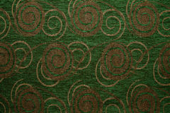 Textile fabric texture Anemon 328 Hunter green color Royalty Free Stock Photography