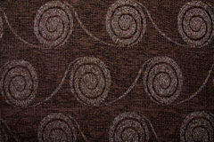 Textile fabric texture Anemon 0344 Seal brown color Royalty Free Stock Image