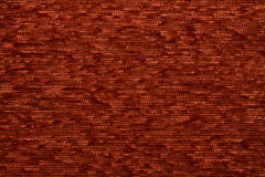 Textile fabric texture Kombin 05 Carnelian red color Royalty Free Stock Image