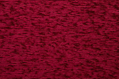 Textile fabric texture Kombin 06 Rufous red color Stock Photography