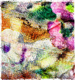 Textile fabric in vintage style Stock Photos