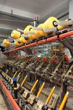 Textile factory Royalty Free Stock Photo