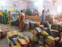Textile Factory in India Stock Photography