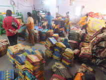 Textile Factory in India Royalty Free Stock Images