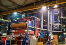 Textile factory Stock Photos