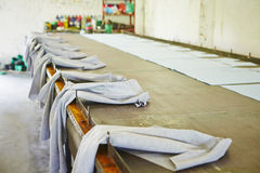 Textile factory Stock Photos