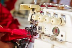 Textile factory Stock Image