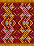 Textile fashion african Ankara print vector illustration