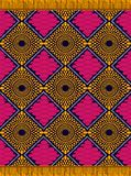 Textile fashion african Ankara print. Textile fashion, african print fabric, abstract seamless pattern, vector illustration file royalty free illustration